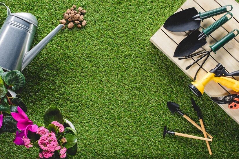 cortacesped manual para jardín pequeño